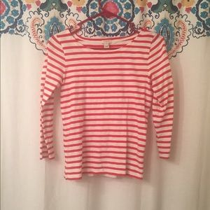 Nautical red J.crew artist tee size XS